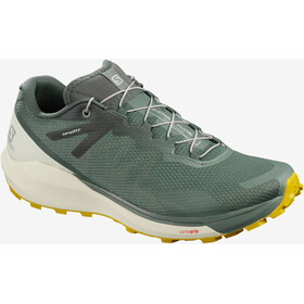 Salomon Sense Ride 3 Shoes Men, balsam green/vanilla ice/sulphur